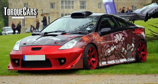 Tuning the Toyota Celica