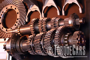 Low ratio gearbox